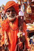 Old Man Traditionally Dressed India