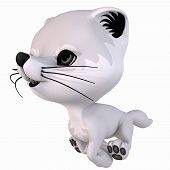 Toon Artic Fox