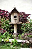Wood Birdhouse Outdoor Garden