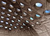 Skylight Perforated Dome