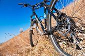 Bike On The Hill