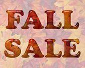 ������, ������: Fall Sale