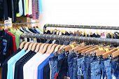 Cloth In Shop