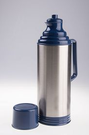 foto of thermos  - Thermo flask - JPG