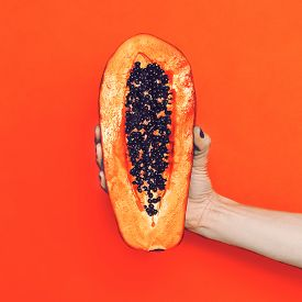 pic of papaya fruit  - Fashion photo - JPG