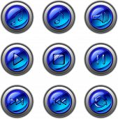 multimedia music icons