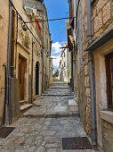 Street At Korcula, Croatia