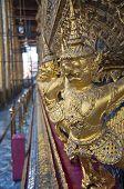 Thai Golden Garuda in Grand Palace Thailand