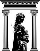 Romane Frau