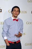 LOS ANGELES - FEB 14:  Khleo Thomas arrives at the