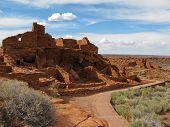 Wupatki ruins near Flagstaff Arizona