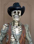 Esqueleto de vaquero