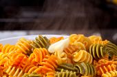 Steaming Pasta