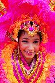 Bailarín de Samba rosado