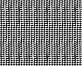 Creative Vector Illustration Of Fabric Houndstooth Seamless Vector Pattern Background. Geometric Pri poster
