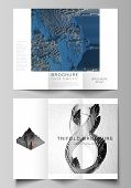 The Minimal Vector Layouts. Modern Creative Covers Design Templates For Trifold Brochure Or Flyer. B poster