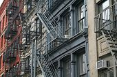 New York City Fire Escape Apartments