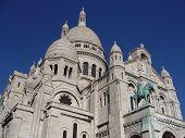 Basilica Sacre-coeur of Paris, France