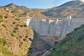Dam On The River Campanillas