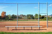 Suburban Baseball Diamond