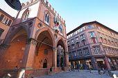 Palazzo Della Mercanzia In Bologna, Italy