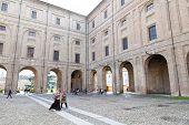 Piazza Della Pilotta In Parma, Italy