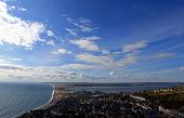 View Point Over Chesil Beach