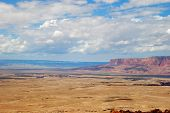 heavenly  view of plains and plateaus of Arizona