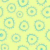 Light seamless pattern with bacterium
