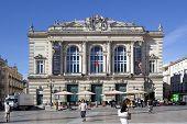 MONTPELLIER, FRANCE - AUGUST 14: Opera national de Montpellier on august 14, 2013 in Montpellier. Bu