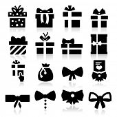 pic of gift wrapped  - Gift Icons - JPG