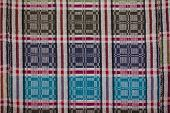 Russian homespun carpet