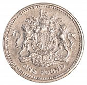 one british pound coin
