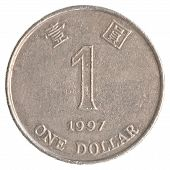1 Hong Kong Dollar Coin