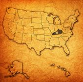 Kentucky On Map Of Usa