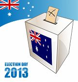 Australian Election Day Background