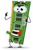 Ram Memory Card Character
