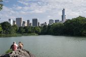People At Central Park