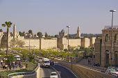 Jerusalem Street Scene In Old Town Of Jerusalem
