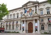 The City Hall Of Avignon