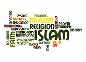 image of karma  - Islam word cloud image with hi - JPG