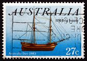 Postage Stamp Australia 1983 Sailing Ship Buffalo