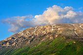 a beautiful view of the macedonian mountain