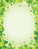 stock photo of shamrocks  - Saint Patrick - JPG