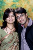 Married Indian Couple