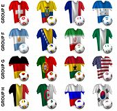 The Greatest Soccer Tournament. Groups E To H