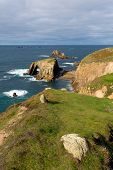 Lands End Cornwall England UK