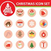 Christmas Symbol Icon Set
