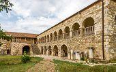 Monastery Pojan Of Saint Mary In Apollonia.