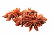 Anise Star (spice) Isolated